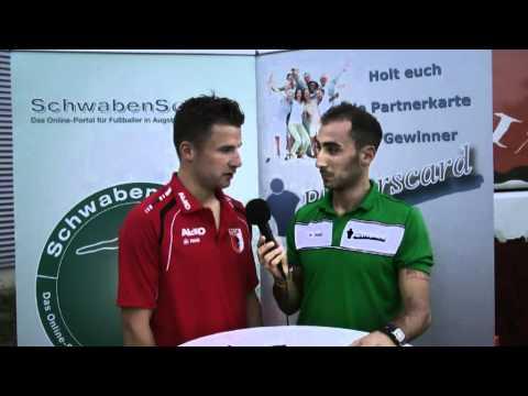 Interview mit Daniel Baier, FC Augsburg