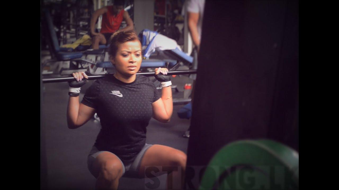Srilankan Female Fitness Motivation (watch in HD)