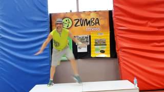Zumba Fitness class Blame It On The Boogie Salsa!