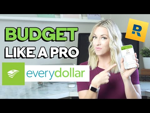 HOW TO USE EVERYDOLLAR APP (Tutorial: Budget In 15 MINUTES With A Dave Ramsey Zero-based Budget!)