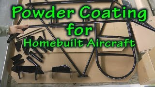 Powder Coating for your Homebuilt Experimental Aircraft