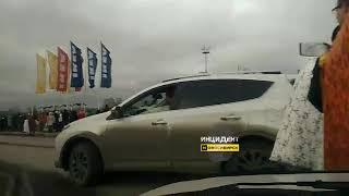 Новосибирск. Эвакуация Меги.
