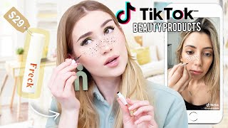 Testing VIRAL TikTok Beauty Products !! *are they worth the hype?*