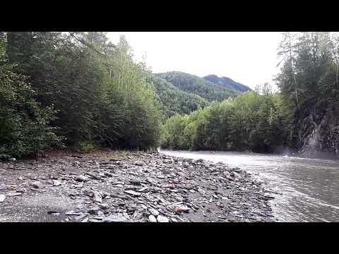 Река Бом, Амурская область, сульфидация несущих пород.