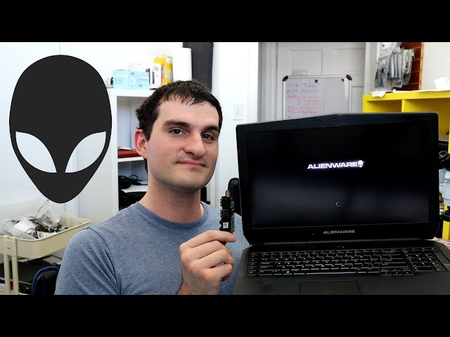 Alienware 17 r3 Audio Jack Replacement : How to