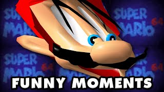 Super Mario 64 Funny Moments Montage!