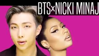 BTS x Nicki Minaj - Idol (Lyrics) (Karaoke)-English-//COLOURFUL LYRICS//