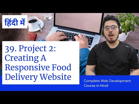 Creating Fully Responsive Website Project Using HTML & CSS  In Hindi | Web Development Tutorials #39