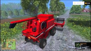 case ih 2388 cutter для farming simulator 2015