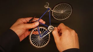 Making a bicycle with a 3D pen