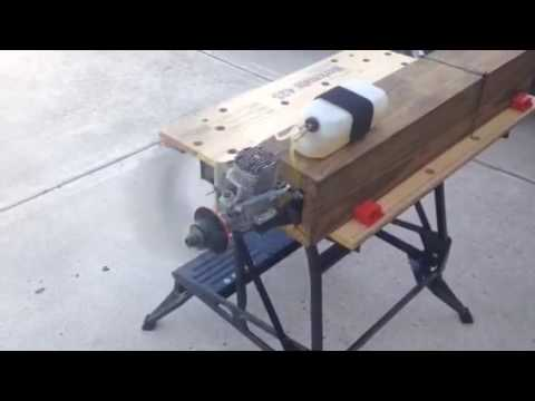 Rc Airplane Engine Test Stand Os 1 60 Engine Runnup