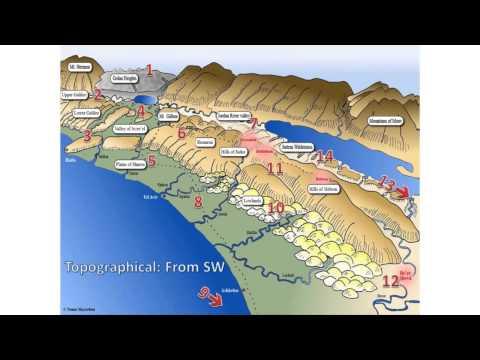 Virtual Israel Touring - Topography
