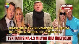 Eski karısına 4.3 milyon lira ödeyecek!