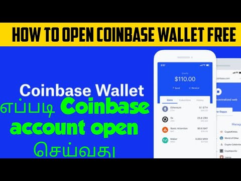 How to create Coinbase wallet Free in Tamil | Buy and Sell Cryptocurrencies