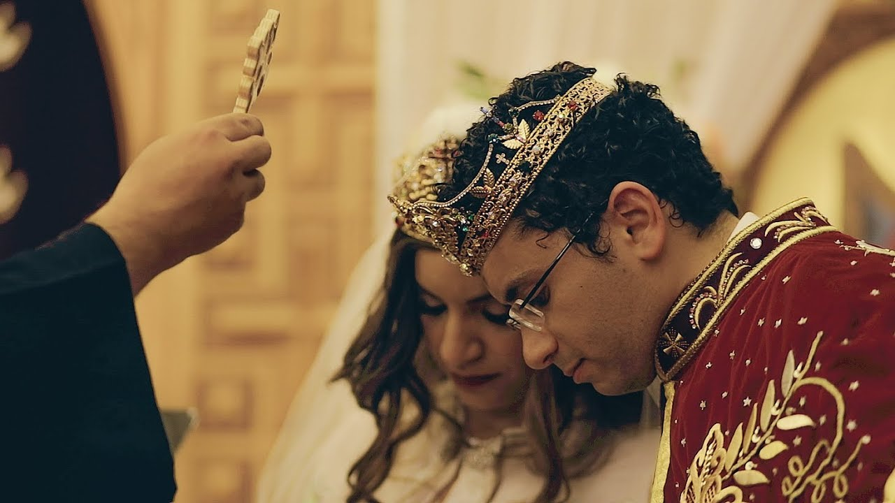 Royal Egyptian Coptic Wedding // St Mary's Coptic Orthodox Church - SC