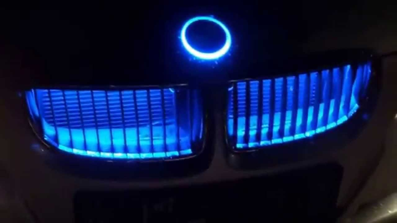 BMW Emblem LED Logo Xenon Badge Emblemat - YouTube
