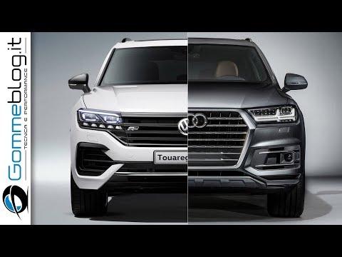NEW VW Volkswagen Touareg Vs Audi Q7 INTERIOR + EXTERIOR SUV
