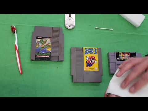How to safely clean your retro games