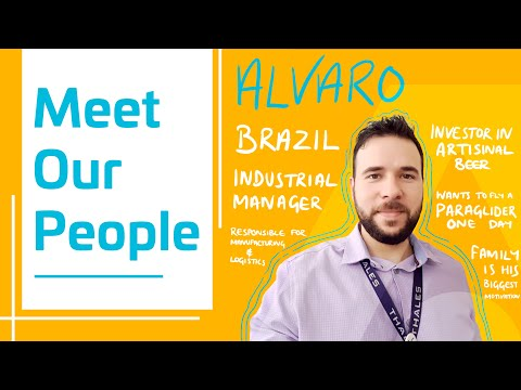Meet Our People - Alvaro from Brazil - Thales