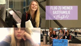 REISEPASS VERLOREN? FLUG NACH MADISON #FlugTeil2 ❥ RYE Auslandstagebuch USA 17/18