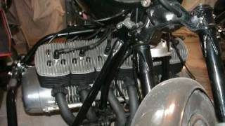 Adler MB 600 Motorrad 6 Zylinder Eigenbau von 1977