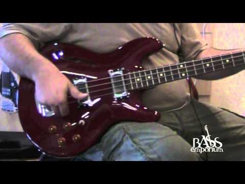 Lakland Hollowbody Bass Demo