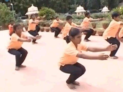 Yoga For Beginners In Tamil (ஆரம்ப நிலை யோக பயிற்சிகள்) - Strengthens Muscles