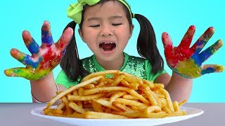 Download Johny Johny Yes Papa | Jannie & Wendy Pretend Play Wash Your Hands Nursery Rhymes Song Mp3 and Videos