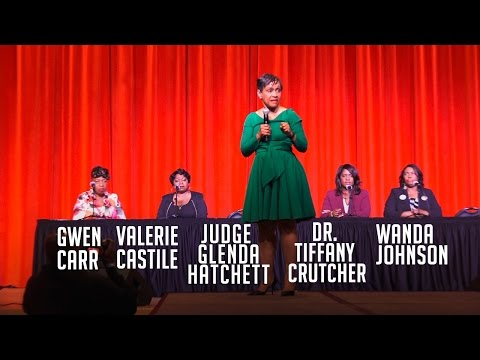 Judge Glenda Hatchett Moderates Conversation With Family Of Eric Garner, Philando Castile  And More!