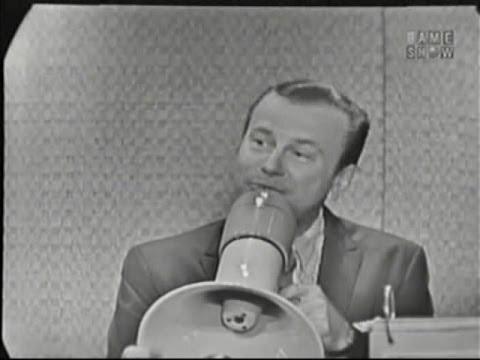 What's My Line? - Jack Paar (Jan 24, 1960)