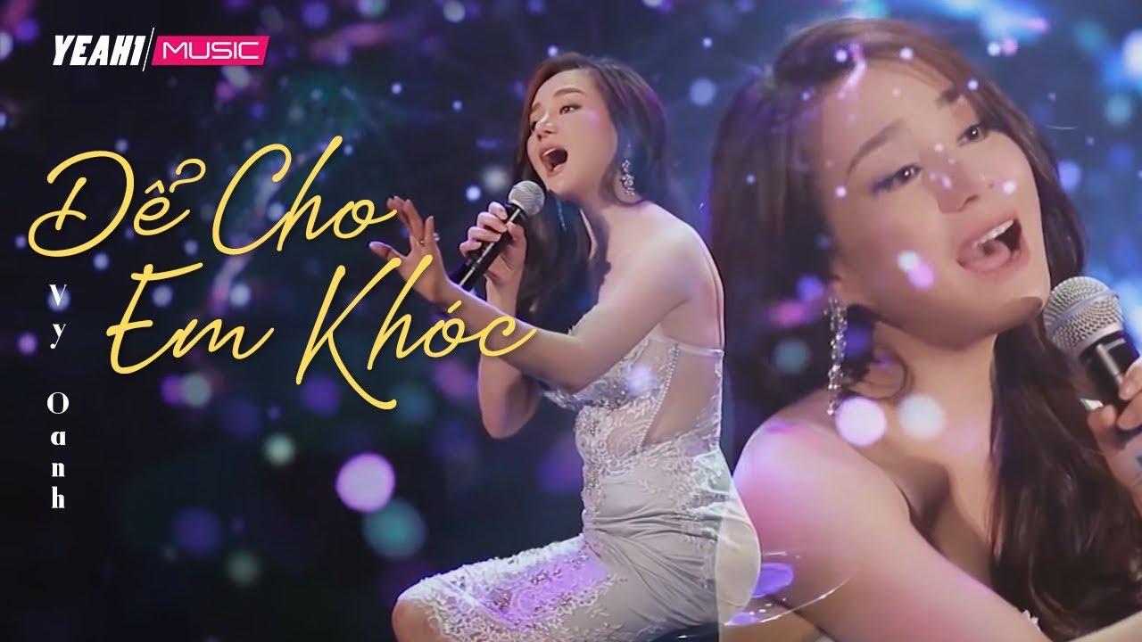 Để Cho Em Khóc [ KARAOKE ] – Vy Oanh Official | OST VALI TÌNH YÊU