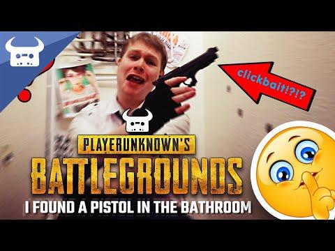 BATTLEGROUNDS RAP   Dan Bull feat. Bonecage   PUBG SONG: Pistol In The Bathroom