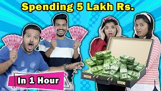 SPENDING RS 5,00,000 IN 1HOUR | Hungry birds
