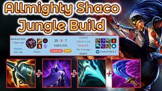 Berserker Shaco Jungle Carry vs. Fed Evelynn [League of Legends] Full Gameplay - Infernal Shaco