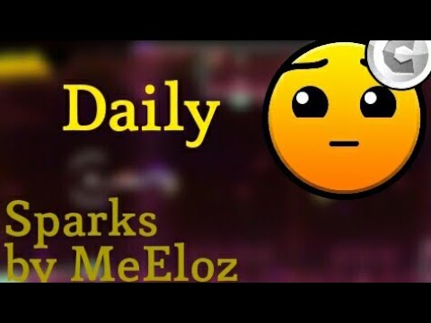 Geometry Dash World- Sparks by MeEloz (Daily) (1/1 Coin)