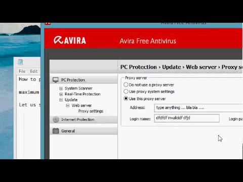 How To Disable Avira Antivirus Automatic Virus Updation Permanently