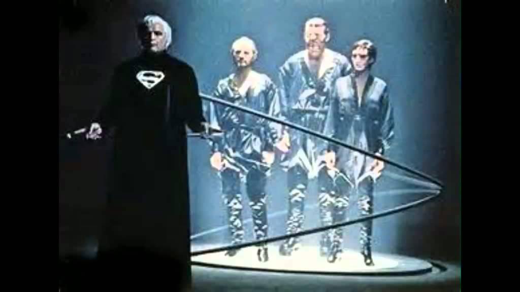 Superman The Movie Zod Court Room Phantom Zone Sfx Youtube