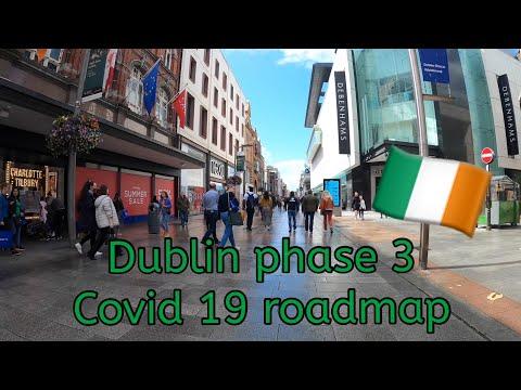 DUBLIN IRELAND AFTER COVID 19 LOCKDOWN | DUBLIN WALKING TOUR