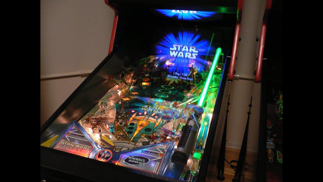 Star Wars Pinball Machine >> Pinball 2000 Star Wars Episode 1 Pinball ピンボール スターウォーズ ...