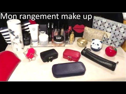 {ASMR} Mon rangement maquillage * make up