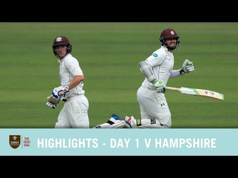 HIGHLIGHTS - Day 1 v Hampshire at the Kia Oval