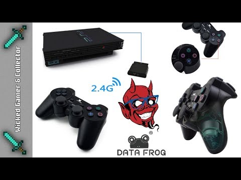 China Wireless Knockoff Playstation 2 / PS2 Controller Review & Testing