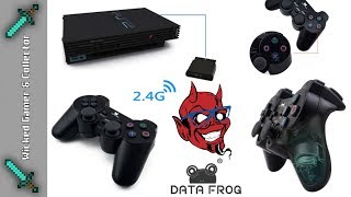 Playstation 2 Fake Wireless Controller Unboxing | Data Frog Ali-Express