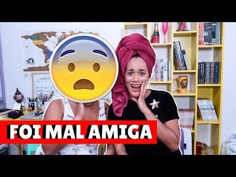 FINALIZEI O CABELO DE UMA AMIGA COMO SE FOSSE MEU!! DEU RUIM? feat Monalisa Nunes