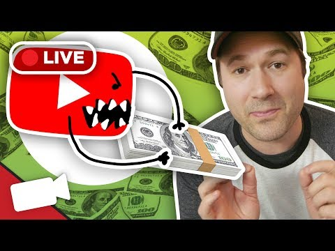 Making Money when YouTube Takes it Away