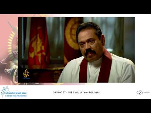 SRI LANKA WAR   episode   war reporting 2010