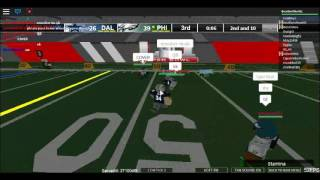 Roblox NFL BETA Gameplay: Getting Destroyed