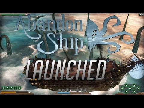 Abandon Ship first impressions - Unleash the krakan  - Let's play Abandon ship Release gameplay