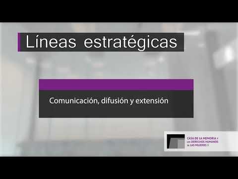 VIDEO CASA DE LA MEMORIA