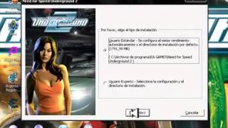 DESCARGAR Need For Speed Underground 2 FULL ISO ESPAÑOL